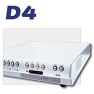 Dedicated Micros 4-way 80GB DVMR w/PPP, w/Networking, audio 60 PPS, CD