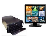 128 Channel NVR System - 6 Video Outputs HDMI Geovision with HDMI 1080p