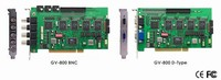GV-800-8 GeoVision DVR Card with 8 camera input, Geovision v8 software, PCI Board Security DVR