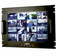 "17"" Rack Mount LCD Monitor VGA"